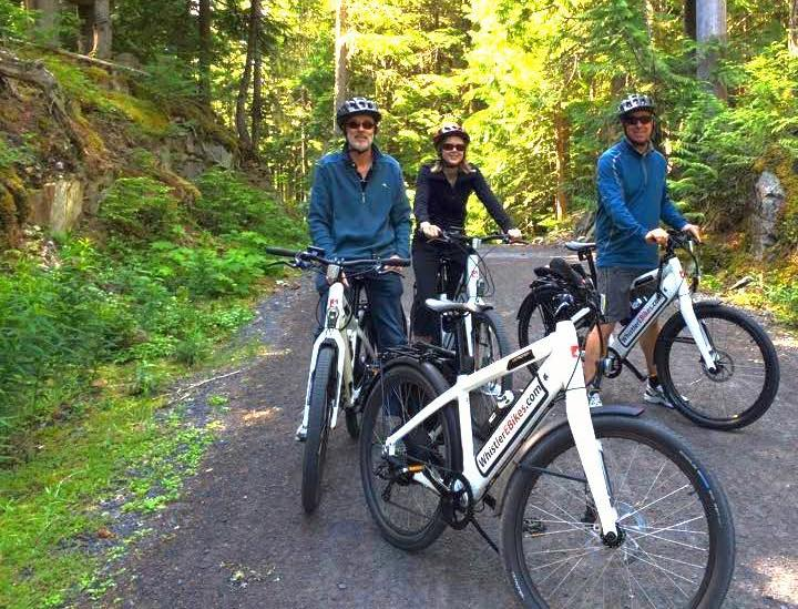 whistler, electric bicycles, ebikes, vancouver symphony orchestra,